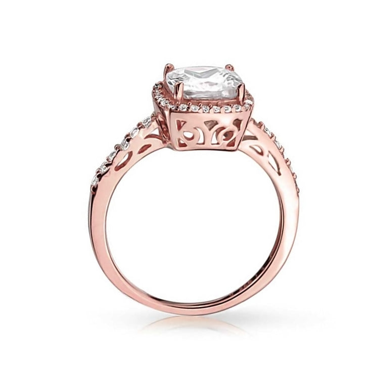 Rose Gold Plated Silver | Image2