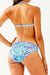Twist Front Bandeau Bikini Swimsuit - Two Piece Set