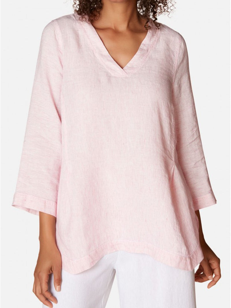 Linen Loose half-Sleeved Shirts
