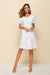 Sweet ShortSleeved V-neck Dress
