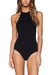 Cute Shell Cut One Piece Swimsuit