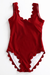 Sheinlove Strappy Sexy One-piece Swimwear