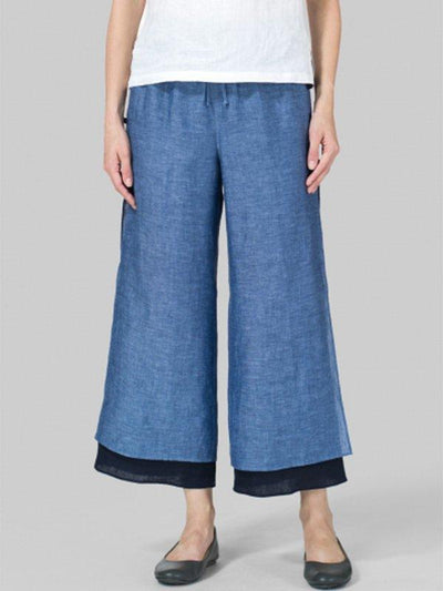 Women Casual Cotton Bottoms Pants
