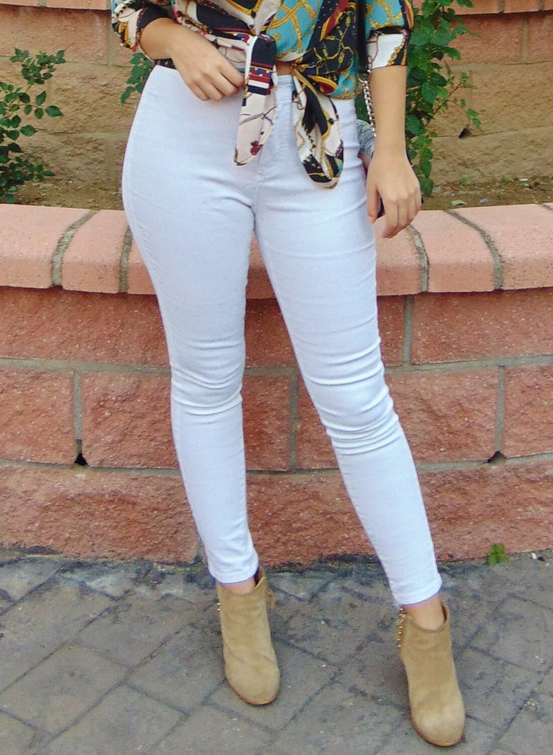 Sexy High Waisted Skinny Jeans
