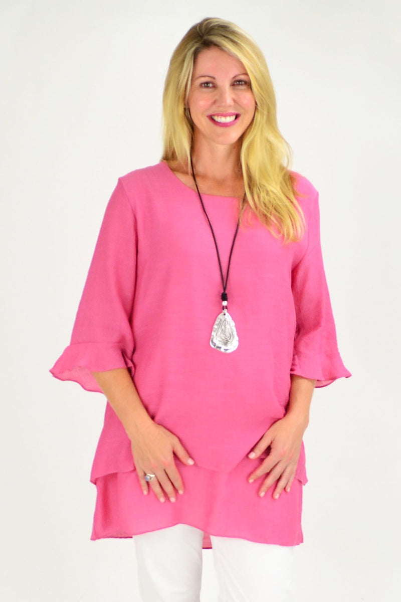 Pink Cotton Vokue Top