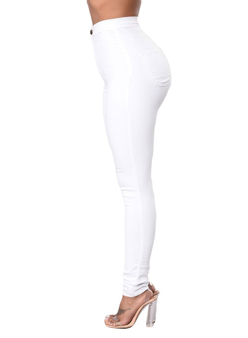Sexy High Waisted Skinny Jeans (LC786041-1-3)