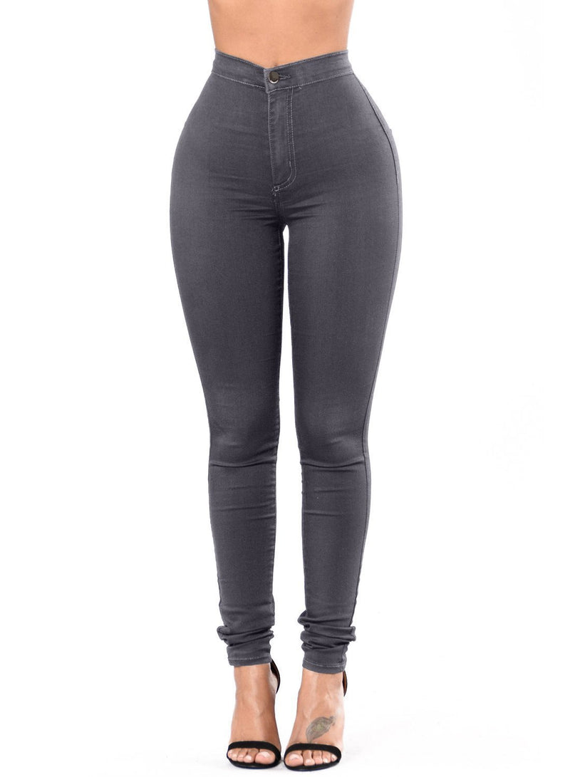 Sexy High Waisted Skinny Jeans (LC786041-11-1)