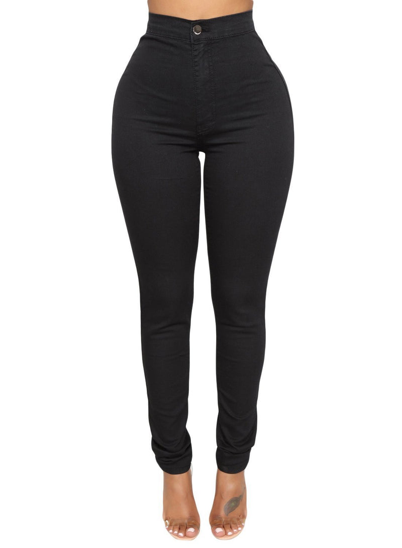 Sexy High Waisted Skinny Jeans (LC786041-2-1)