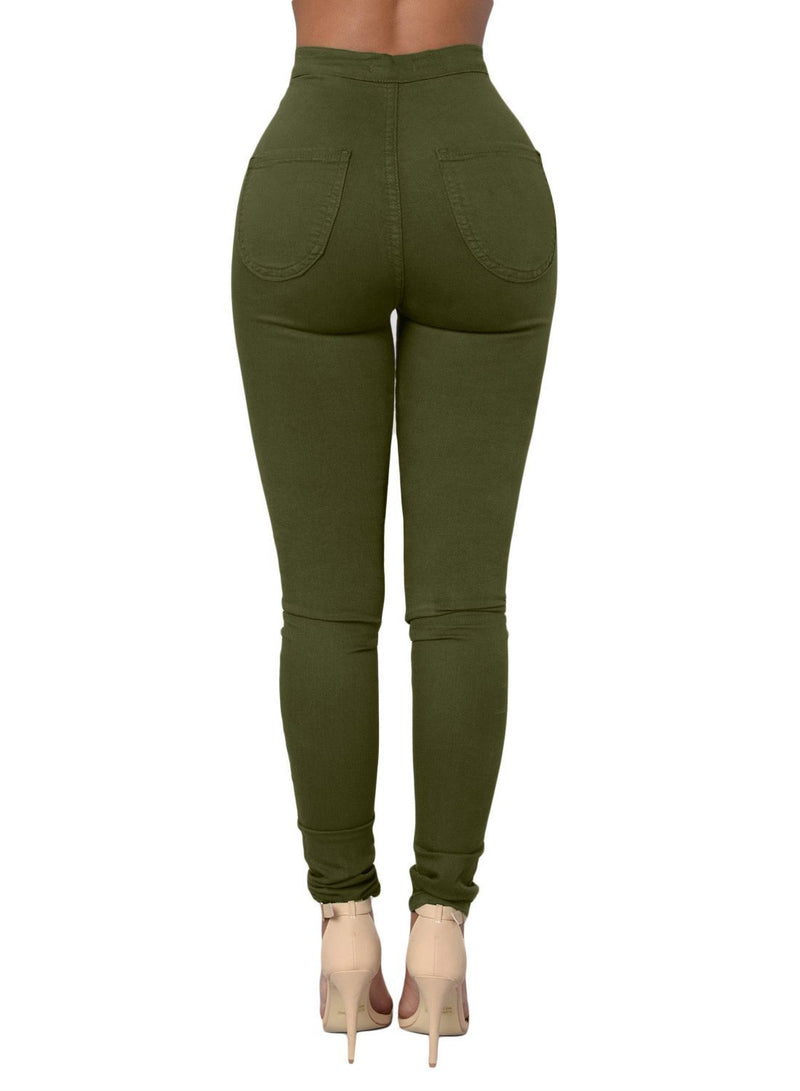 Sexy High Waisted Skinny Jeans (LC786041-9-2)