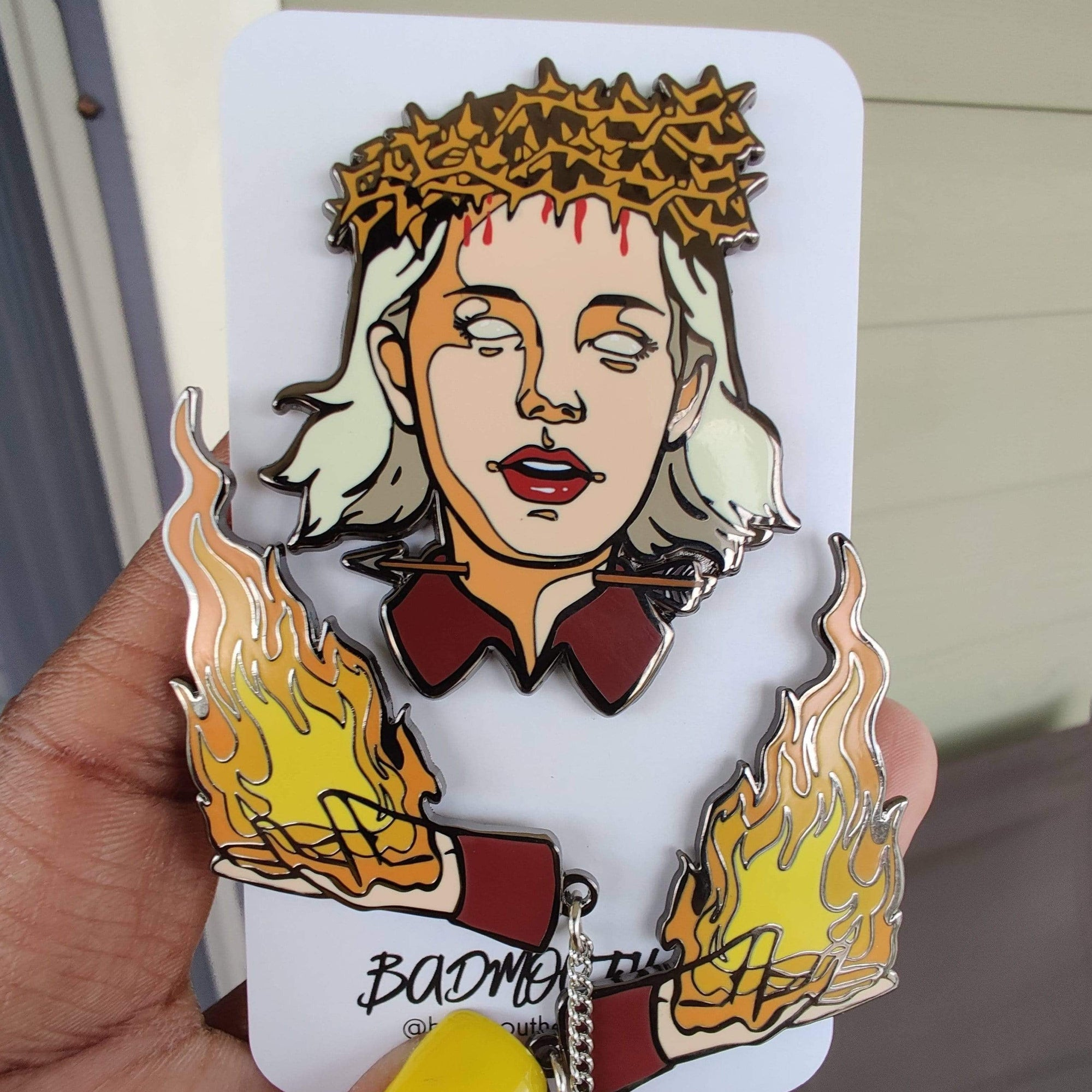 Sabrina Spellman Enamel Pin Witch Enamel Pin The Chilling Adventures of sabrina
