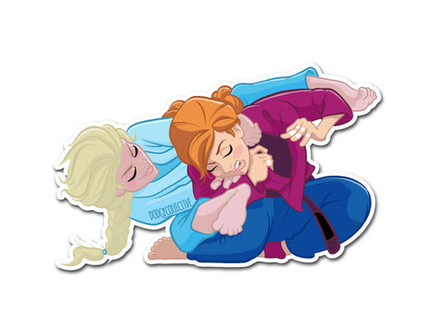 Princess Sticker Let it go