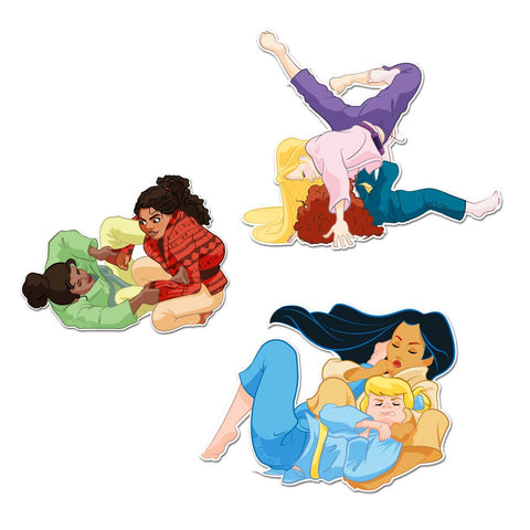 Princess Sticker Pack 3