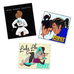 Lady Like Sticker Pack 1