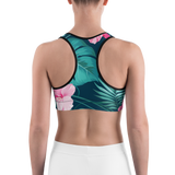 Dodgy Tropical Sports Bra
