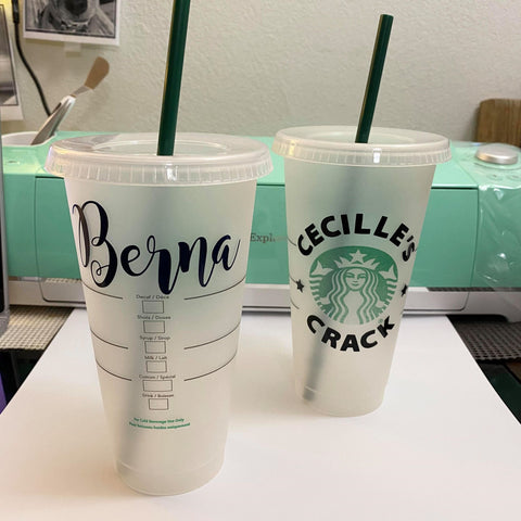 Custom Personalized Starbucks Cup