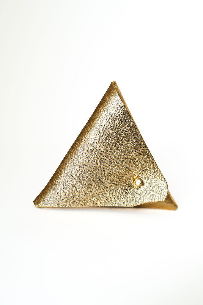 Metallic Soft Gold Triangle