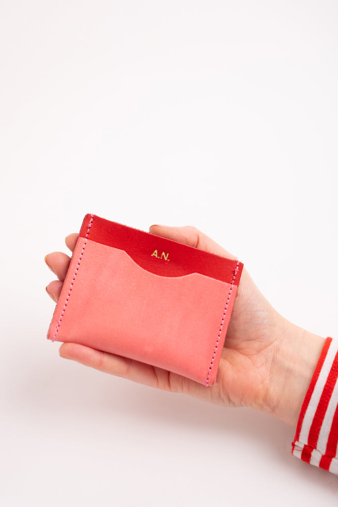 Colour Block 2 Card Holder