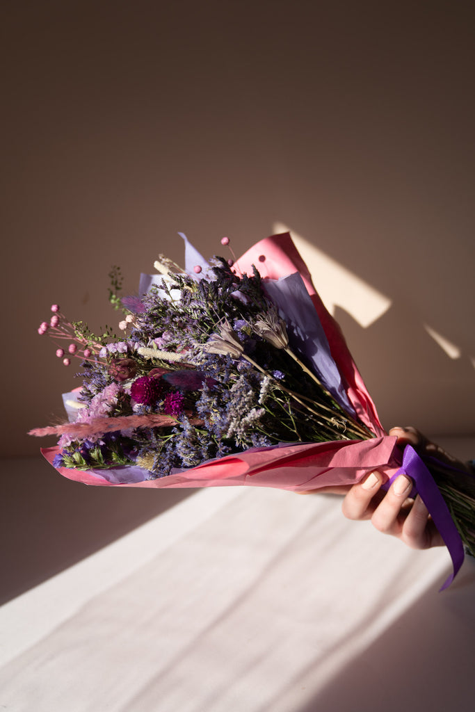 'Provence' Everlasting Love - Dried Flower Bouquet
