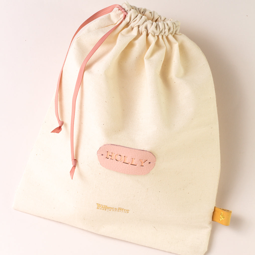 Personalised Cotton Gift Bag