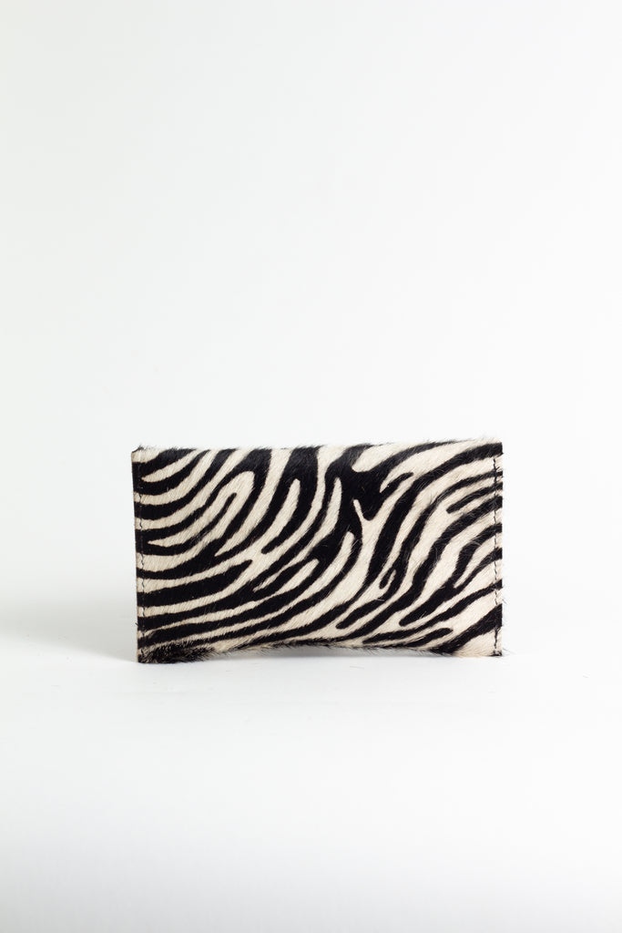 Zebra Pattern Purse