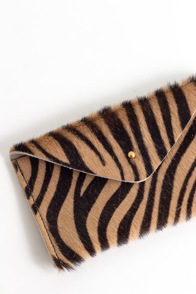 Zebra Tan Pattern Purse