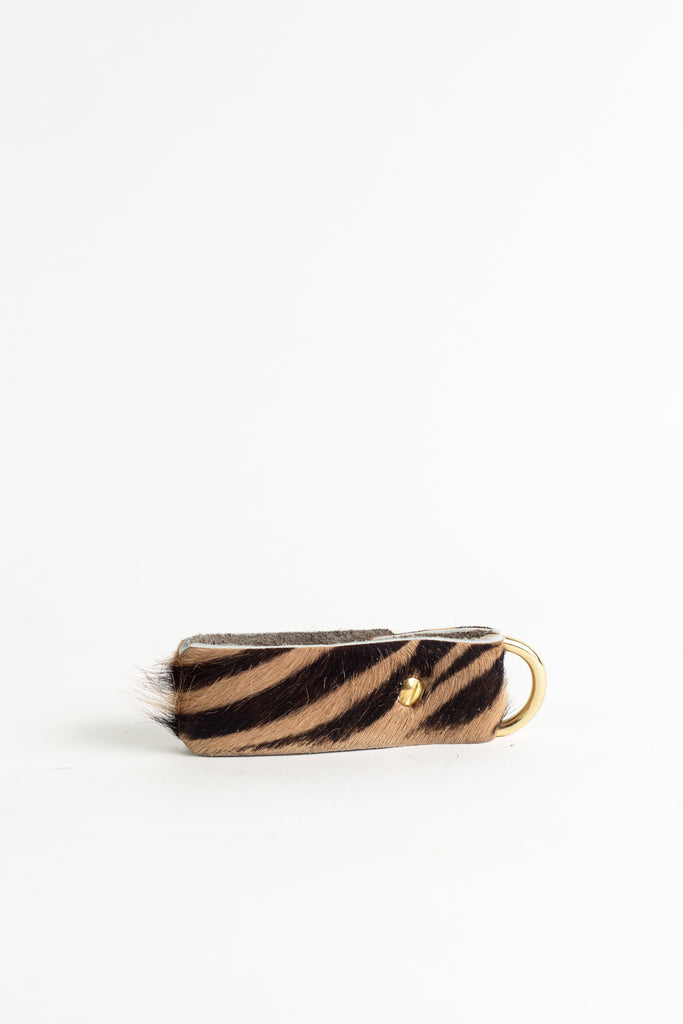 Animal Zebra  Keyring