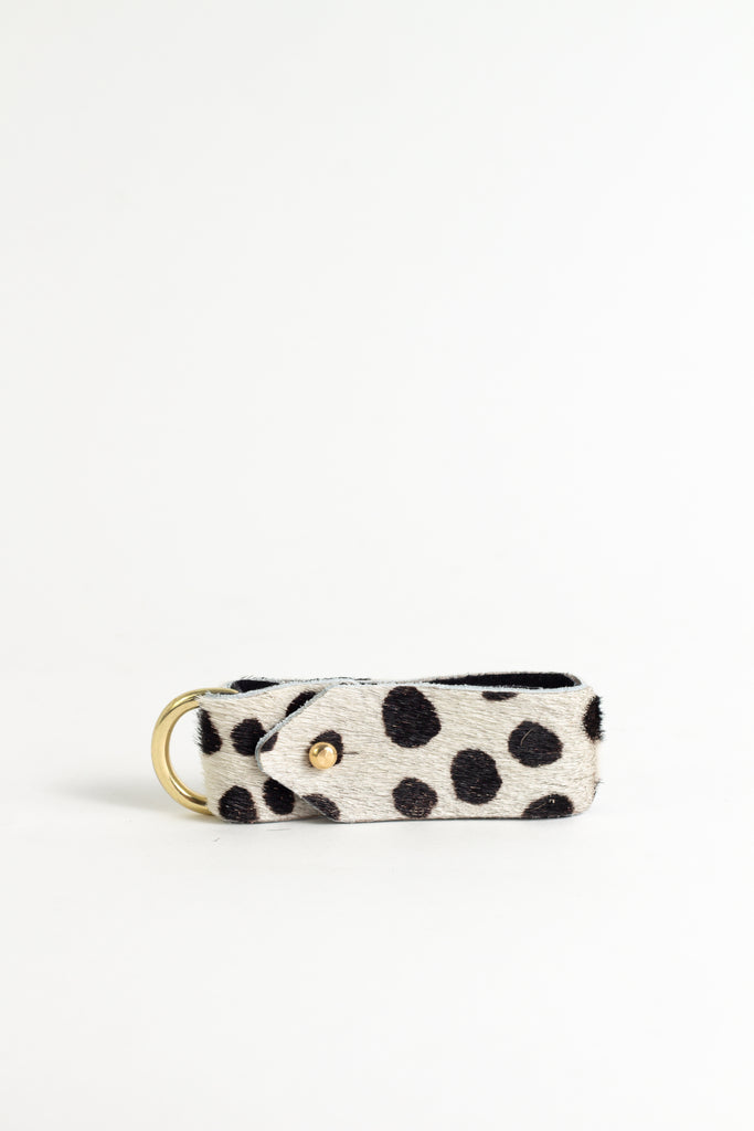 Animal Monochrome Spot Keyring