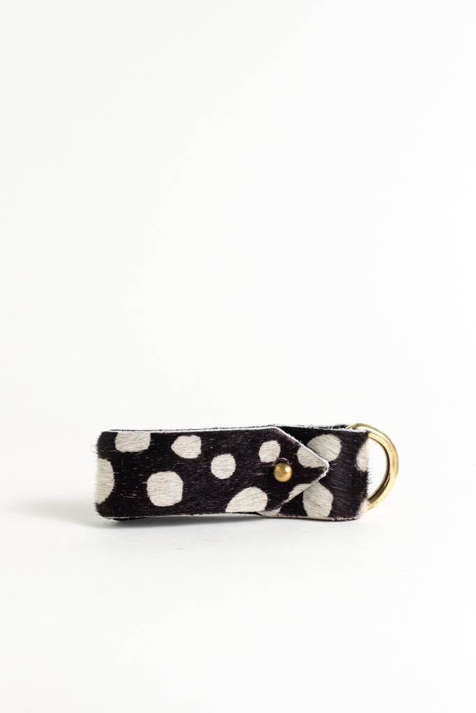 Animal Monochrome Spot  2 Keyring