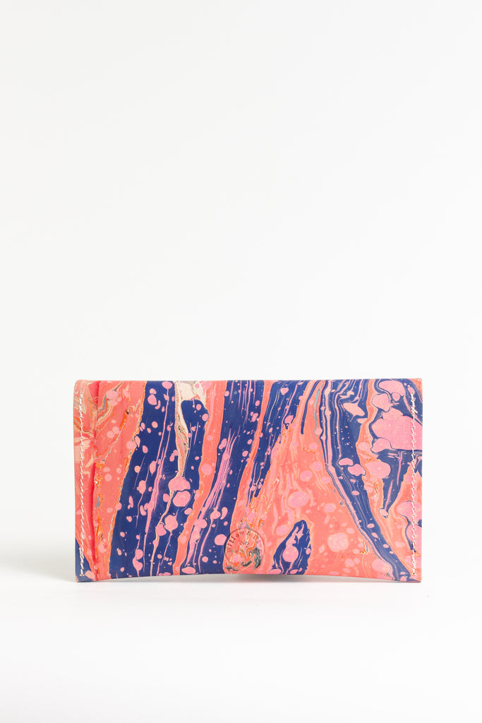 Hand Marbled Purse - (One of a Kind)