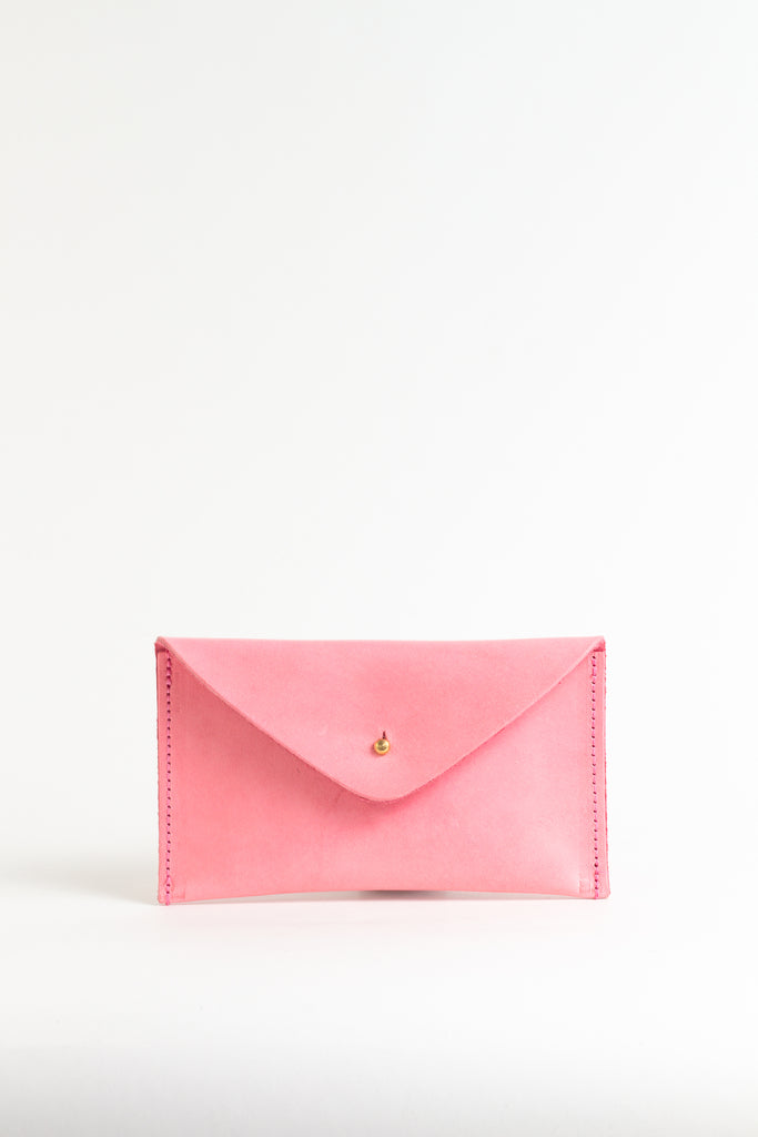 Sunkissed Pink Leather Purse