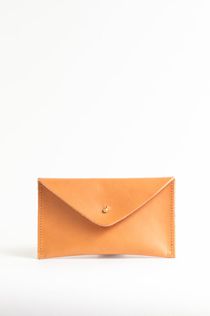 Caramel Tan Leather Purse