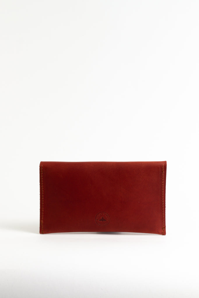 Chestnut Leather Purse