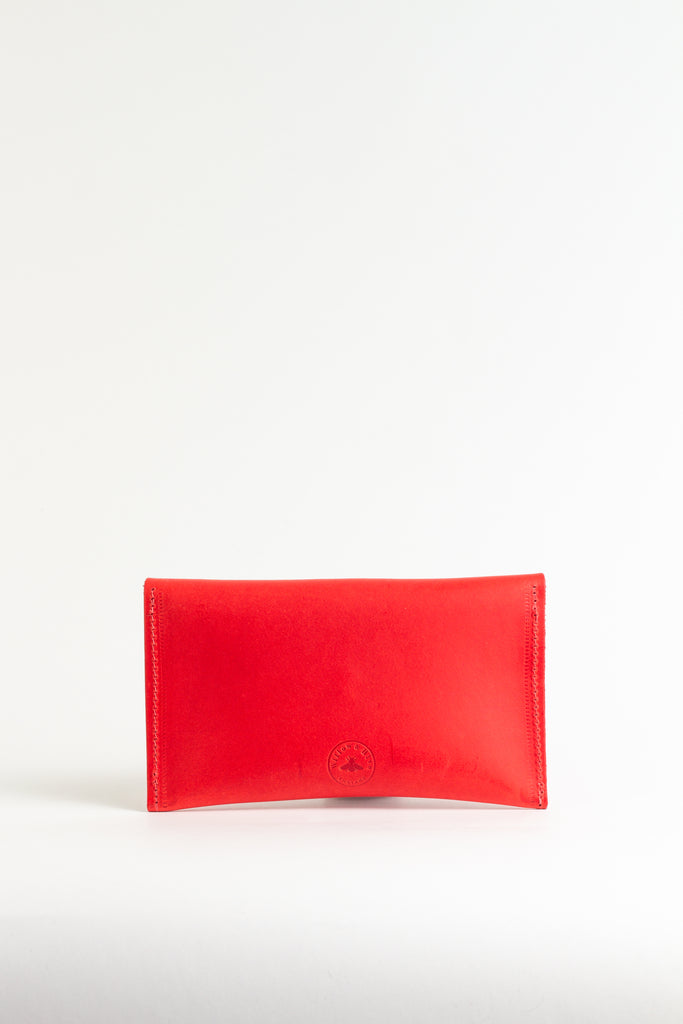 Fiesta Red Leather Purse
