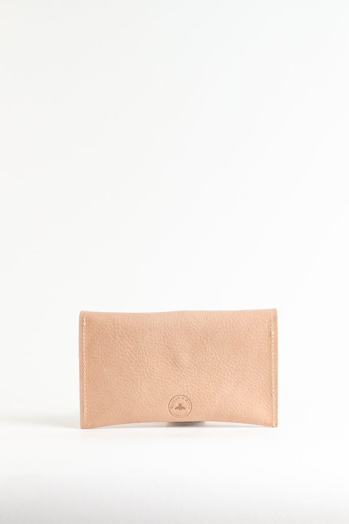 Taupe Textured  Purse