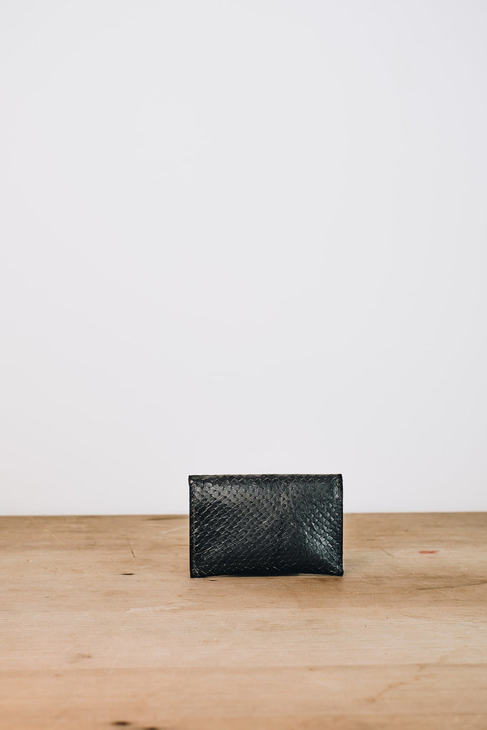 Black Texture Mini Purse