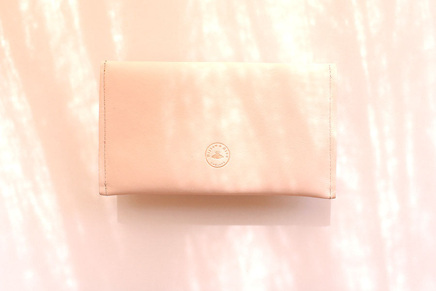 Large Blush Pink Purse