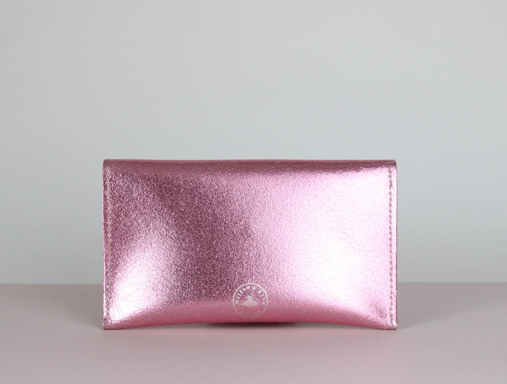 Metallic Pink Purse