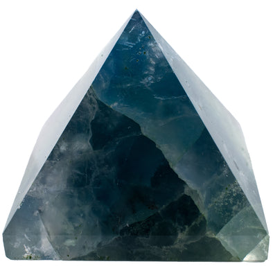 Crystals and Rocks - Fluorite pyramid, 2 in.