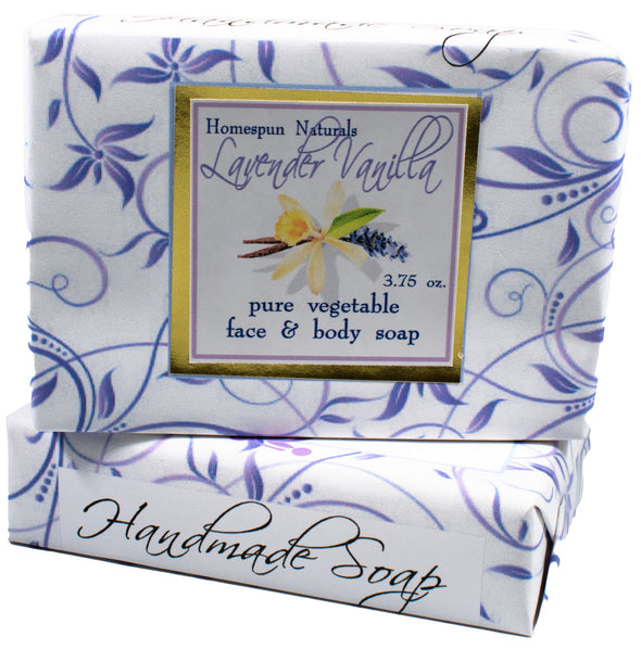 Bath and Body - Lavender Vanilla bar soap