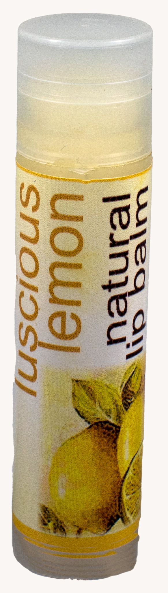 Bath and Body - Natural lemon lip balm