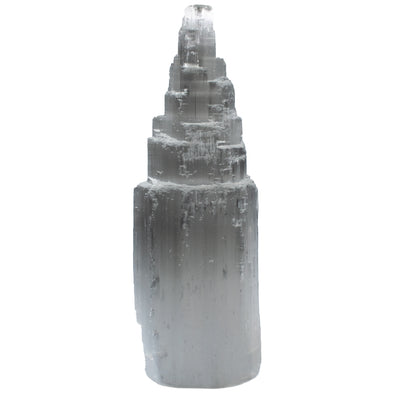 Crystals and Rocks - Selenite tower, 6 in.