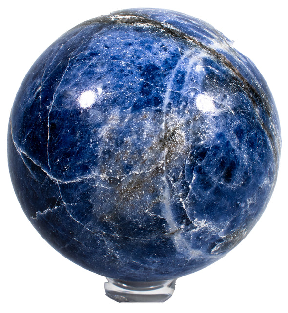 Crystals and Rocks - Sodalite sphere, large