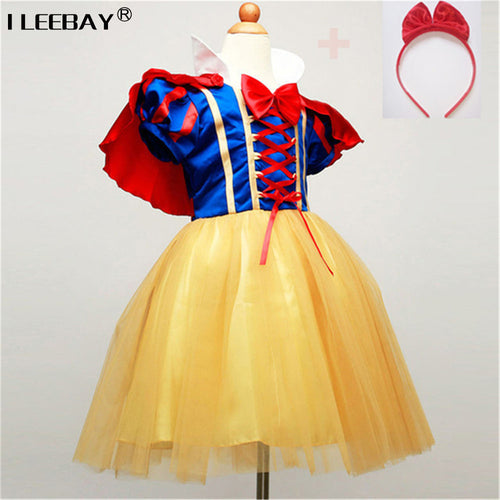 Snow White Girl Princess Dress