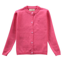 Boys Girls Knitted Cardigan Sweater 100% Cotton