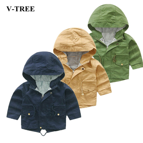 Girls Cartoon Boys Coat Hoody