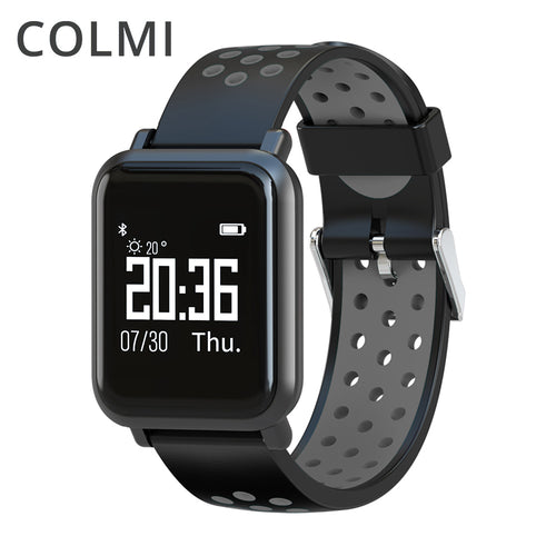 COLMI  2.5D OLED Screen Gorilla Glass Fitness Blood pressure IP68 Waterproof Activity Tracker
