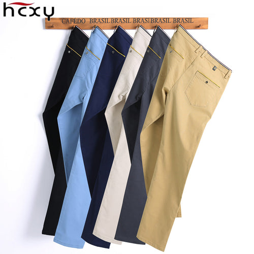 98% Cotton Slim Pant Straight Plus Size