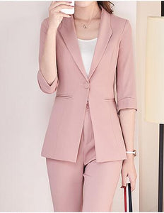 Casual Office Business Suits two-piece