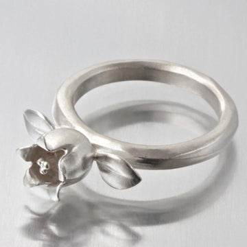 Lily Of The Valley Ring - Goldmakers Fine Jewelry