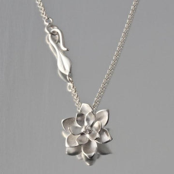 Magnolia Pendant Necklace - Goldmakers Fine Jewelry